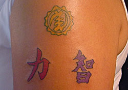 West African Symbols Tattoos